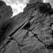 Rock Climbing Photo: Color Me Gone, Dinosaur Rock