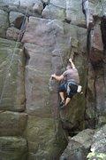 Rock Climbing Photo: tricky feet