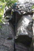 Rock Climbing Photo: pulling through