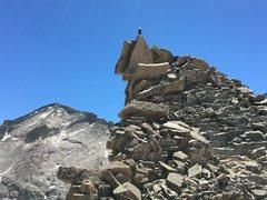 Rock Climbing Photo: The summit of Spearhead.