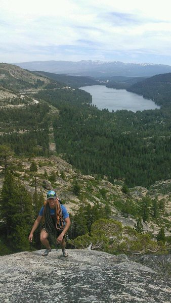 Topping out Insidious Crack on Donner Summit