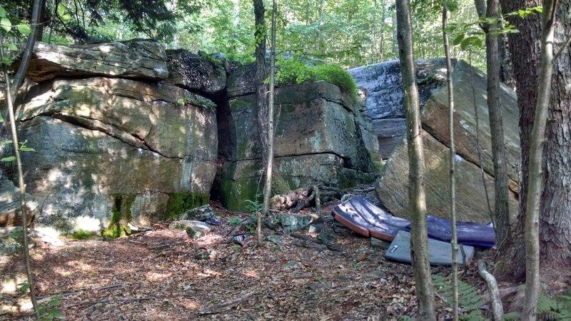 The start of the Rock Garden