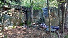 Rock Climbing Photo: The start of the Rock Garden