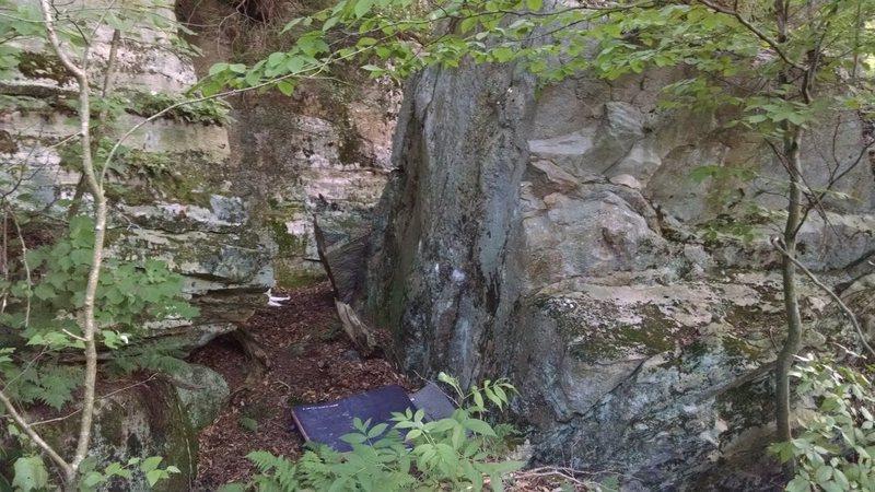 Rock Climbing Photo: A Rock Garden 17ft beauty