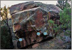 Rock Climbing Photo: 1. Bangled Flight.