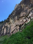 Rock Climbing Photo: Approach to Falls Walls.  Superfund Site, Fool&#39...