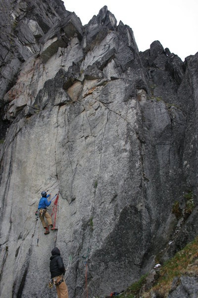 Rock Climbing Photo: Quartz Crack