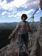 Rock Climbing Photo: Belaying from the top of Garfield Goes to Washingt...