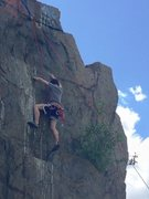 Rock Climbing Photo: Top-roping in the Quincy Quarries