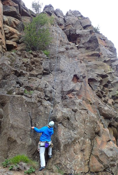 Rock Climbing Photo: Start of Screamin' For Rope