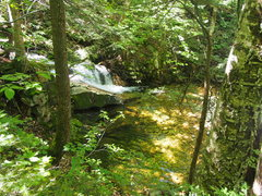 Rock Climbing Photo: Scenic Cascade and Pool about 10-15 min. up the tr...