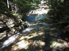 Rock Climbing Photo: Cascade/Flume above the Pool - about 10-15 min. up...