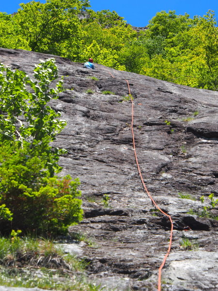 "Rock Climbing Photo: P4 - ""Direct Up"""