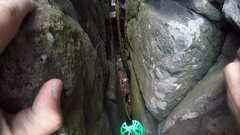 Rock Climbing Photo: Hence the route name.  Why people, why???
