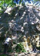 Rock Climbing Photo: Malia on Chainmail