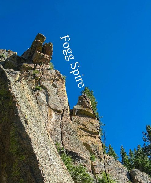 Rock Climbing Photo: Fogg Spire.