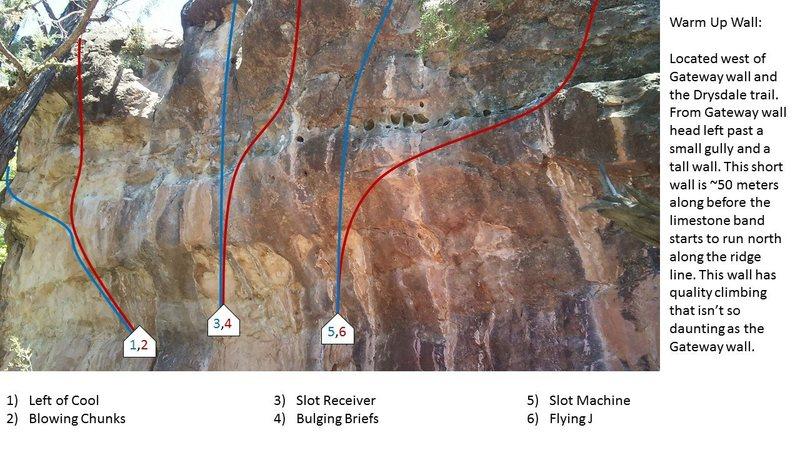 Warmup Wall topo