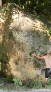 Rock Climbing Photo: This shows start for left hand, right hand shouldn...