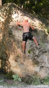 Rock Climbing Photo: Decent hold
