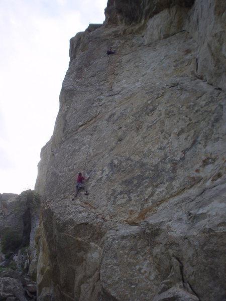 Rock Climbing Photo: Troy Isakson and Matt Hendrickson on Homer.