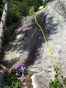 Rock Climbing Photo: Way of the Wife Topo