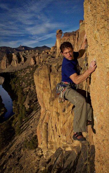 Rock Climbing Photo: Holier Than Thou, Smith Rock