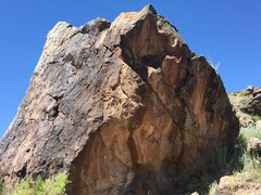 Rock Climbing Photo: North side of the Providence Boulder.