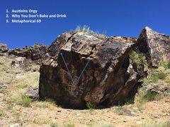 Rock Climbing Photo: Beta for Metaphorical 69.