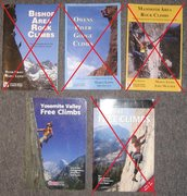 "Rock Climbing Photo: All SOLD except ""Yosemite Valley Free Climbs&..."
