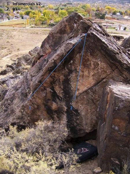 Rock Climbing Photo: Beta for Shamwow Infomercial.