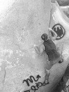 Rock Climbing Photo: I am Batman!!!!