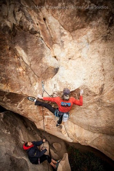 Rock Climbing Photo: David Griffith