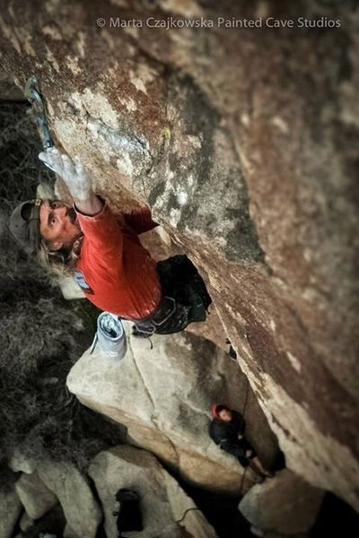 Rock Climbing Photo: Blinds man bluff