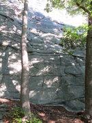 Rock Climbing Photo: Start of Face to Face