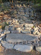 Rock Climbing Photo: The new Arrow trail.  The next trail is Hans' ...