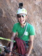 Rock Climbing Photo: Top of P2 of Idiopathic.