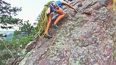 Rock Climbing Photo: flat irons