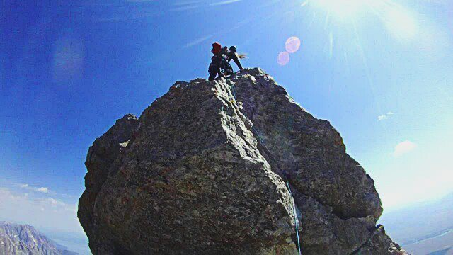 Rock Climbing Photo: exum ridge on the grand