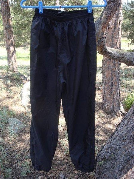 Rock Climbing Photo: Goretex nylon shell pants.