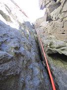 Rock Climbing Photo: fantastic chimney climbing!