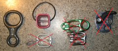 Rock Climbing Photo: Belay/rappel devices (all in good condition).  CMI...