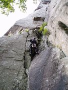 Rock Climbing Photo: Mark M on P1