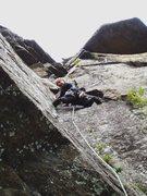Rock Climbing Photo: Above on P2