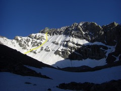 North Face of Mt. Borah 29Jun2012
