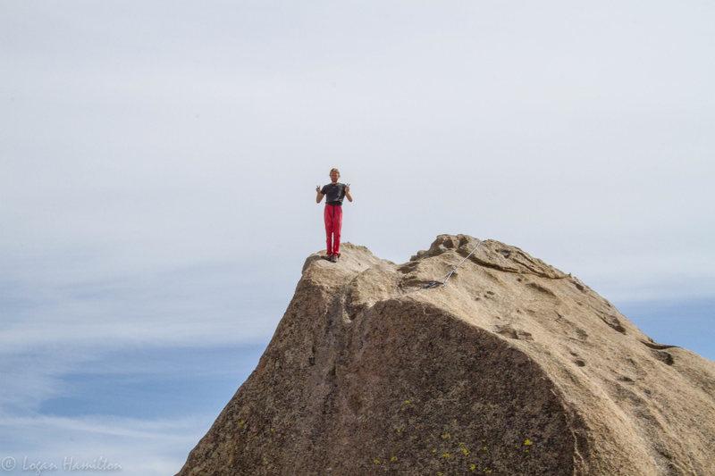 Rock Climbing Photo: Peace...