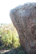 Rock Climbing Photo: the backside offers up some sick overhanging goodn...