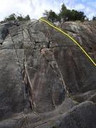 Rock Climbing Photo: Popsicle Topo