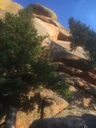 Rock Climbing Photo: Traverse!