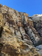 Rock Climbing Photo: A close up of the area incorrectly described as co...
