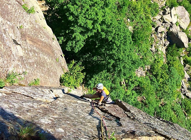 Rock Climbing Photo: awesome time on a stellar route